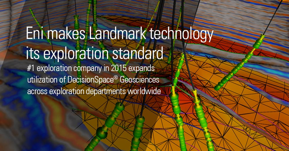 Landmark Software - E&P Software - Eni